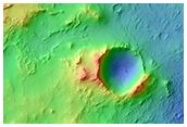 Possible MSL Landing Site in Syrtis Major