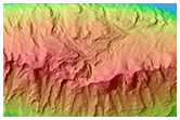 Light-Toned Mounds in Ganges Chasma