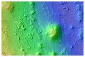 Clay Diversity on Flank of Mawrth Vallis
