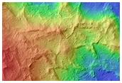 Megablocks of Light-Toned Bedrock in Mawrth Vallis