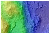Potential MSL Landing Site in Eberswalde Crater