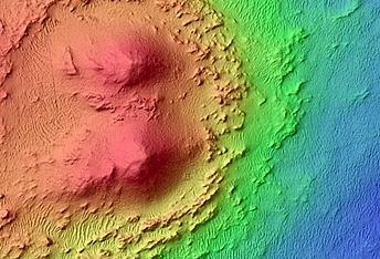 Possible MSL Rover Landing Site near Jezero Crater