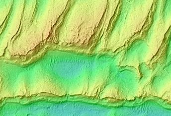 Apollinaris Sulci Indurated Dunes