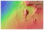 Proposed Site for Future Exploration in Ladon Valles