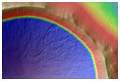 Possibly Fresh 4-Kilometer Diameter Crater