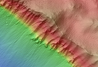 Very Well-Preserved High-Latitude Crater