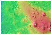 Flow Boundary in Elysium Planitia