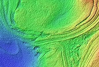 Banded Terrain in Northwest Hellas Planitia
