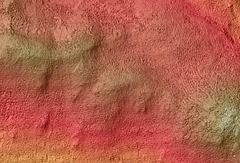 Possible Carbonate in Libya Montes Region