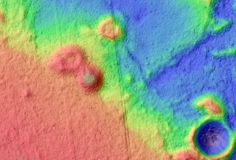 Rifts and Pitted Cones in Utopia Planitia
