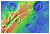 Pitted Cones in Utopia Planitia
