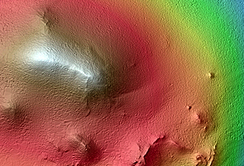 Bright Slope Streaks in Arabia Terra