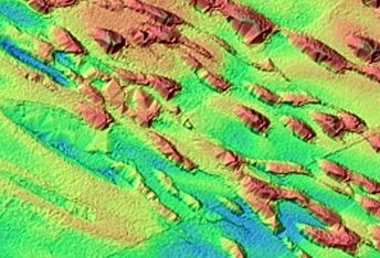 Mounds on North Polar Residual Ice