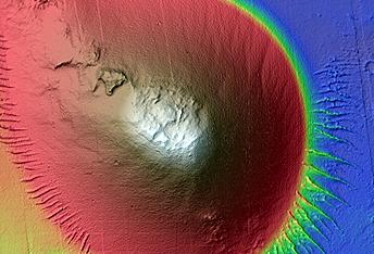Cone Close to Noctis Fossae