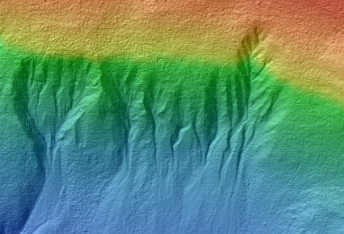 Gullies in Southern Hemisphere Crater