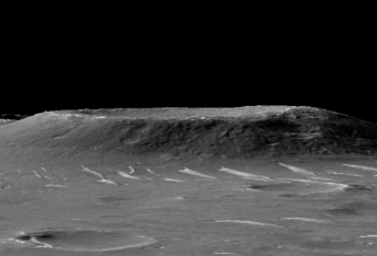 Topography around the Zhurong Rover