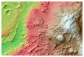Mars Exploration Rover Spirit Landing Site at Gusev Crater
