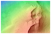 Southern Hemisphere Crater with Dune Field
