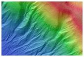 Gullies in Palikir Crater