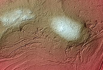 Complex Folded Terrain on the Floor of Hellas Basin