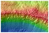 8-Kilometer Diameter Rayed Crater