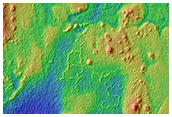 Western Elysium Planitia Boundary