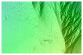 Eastern Valles Marineris Bedrock Stratigraphy and Falling Dunes