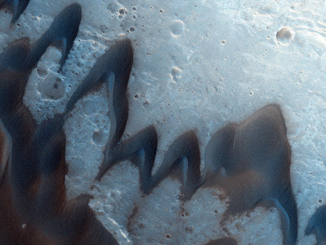 Martian Barchans