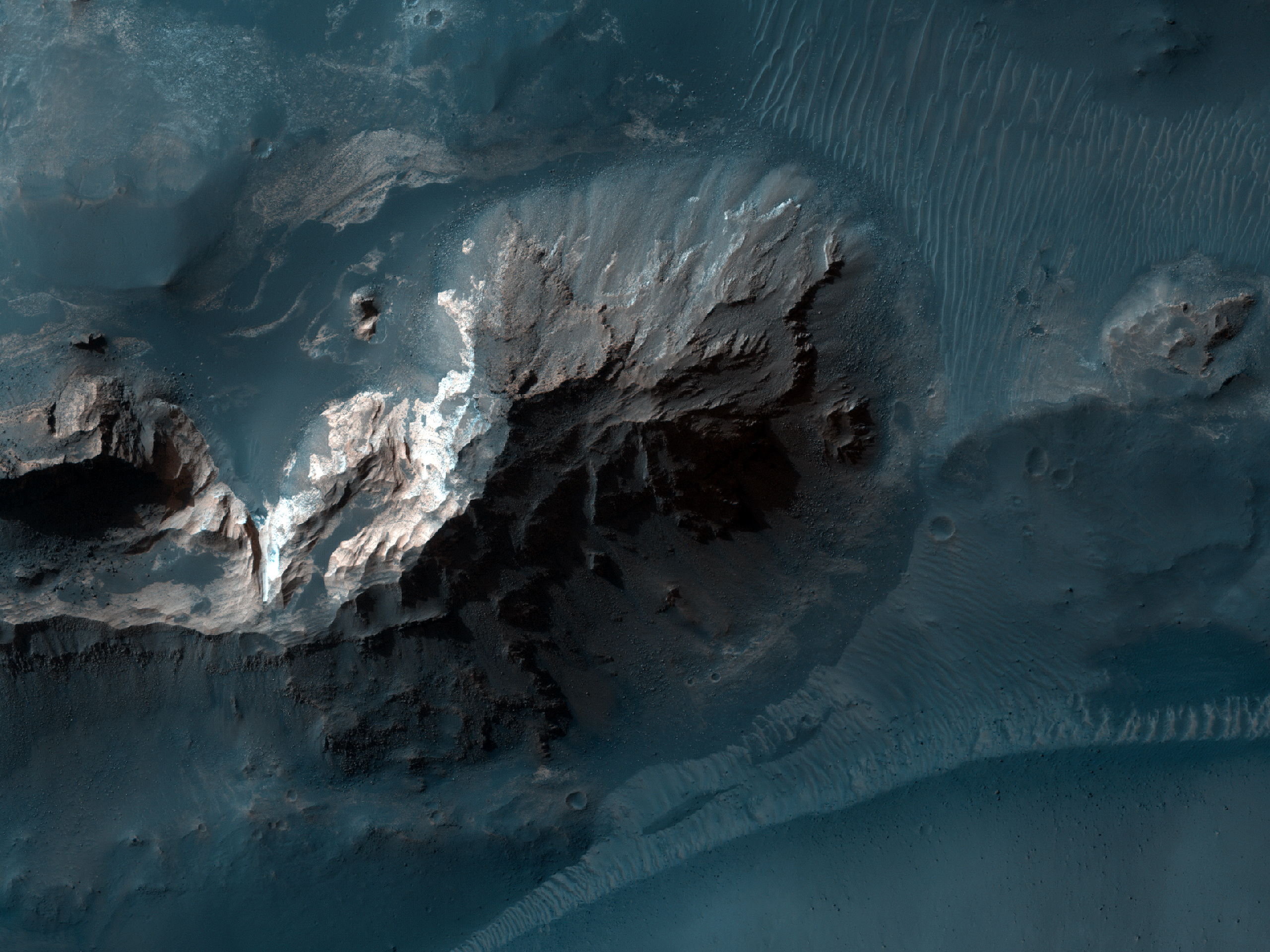 Chaos on the Floor of Candor Chasma