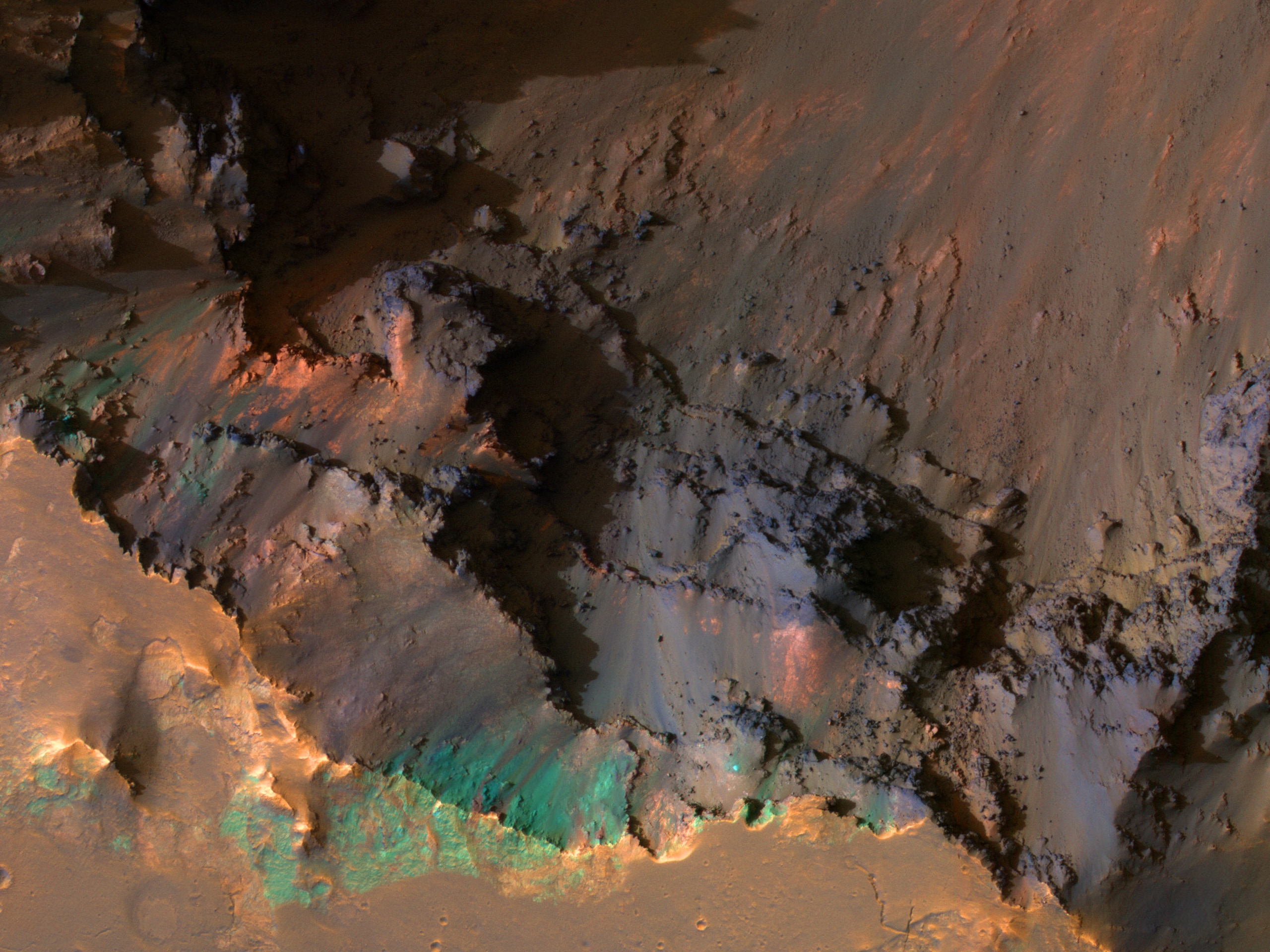 The Top of Coprates Chasma