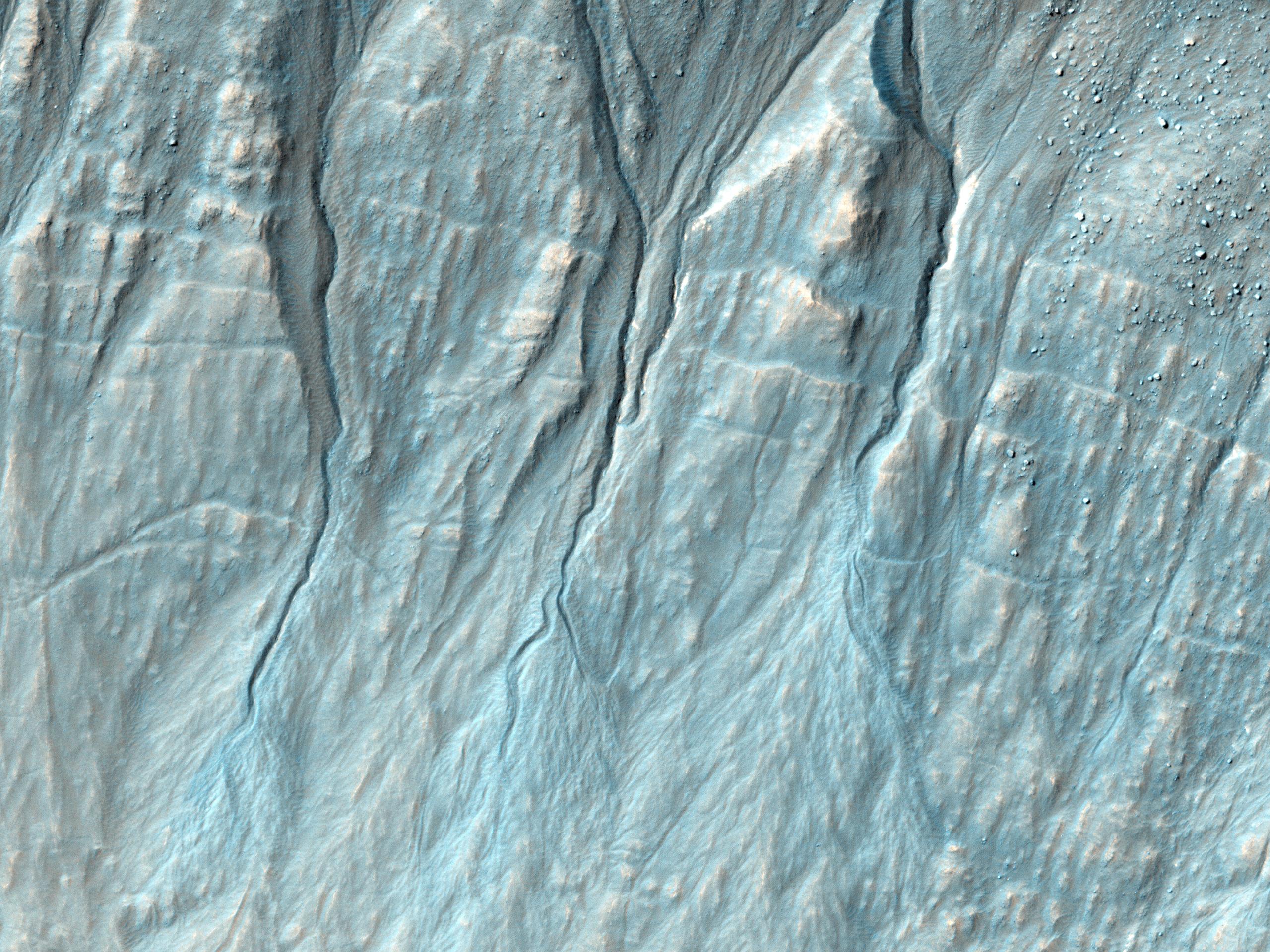 Nýtt giljadrag í Terra Sirenum