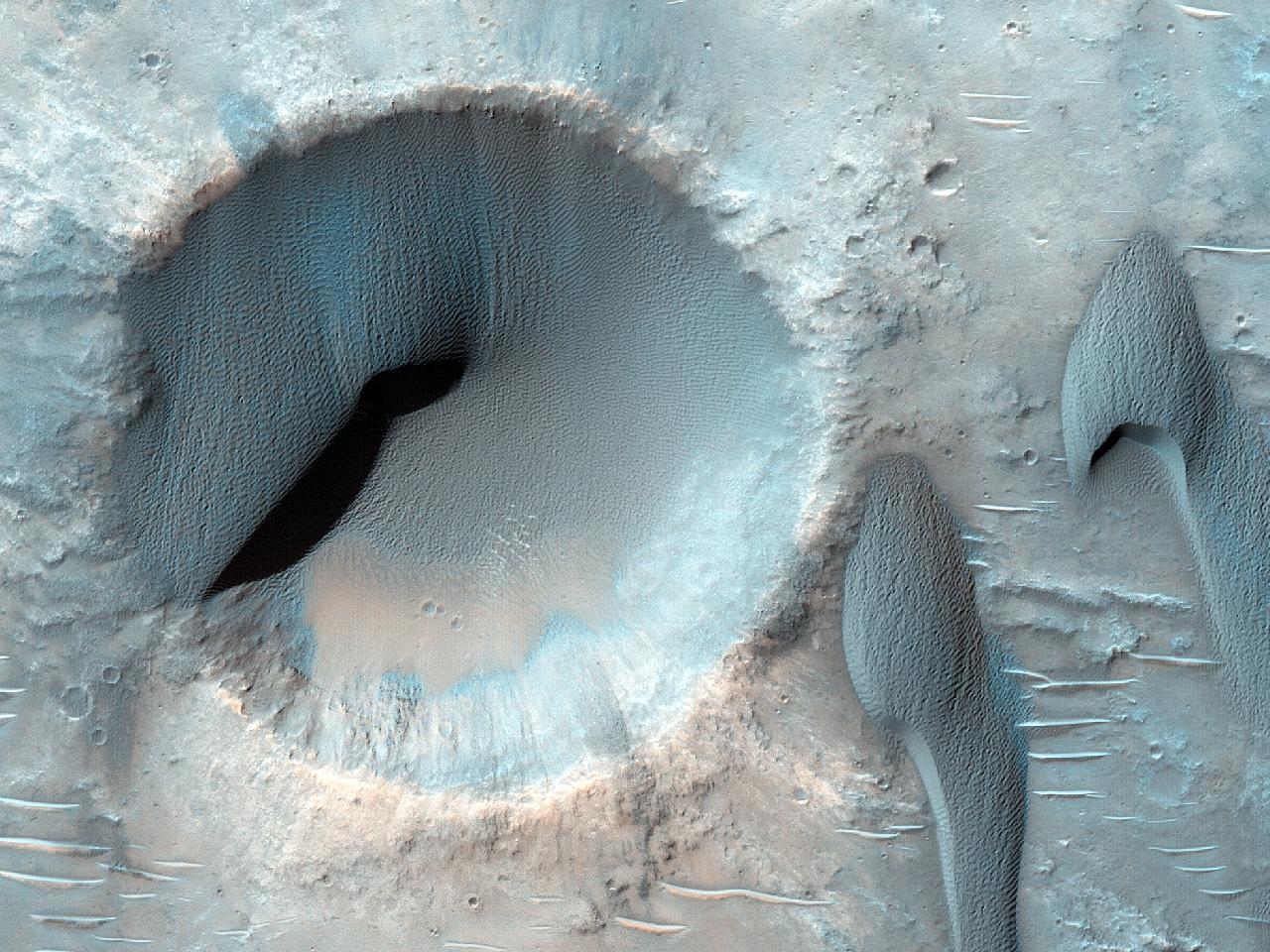 Cattura e rilascio delle dune su Marte