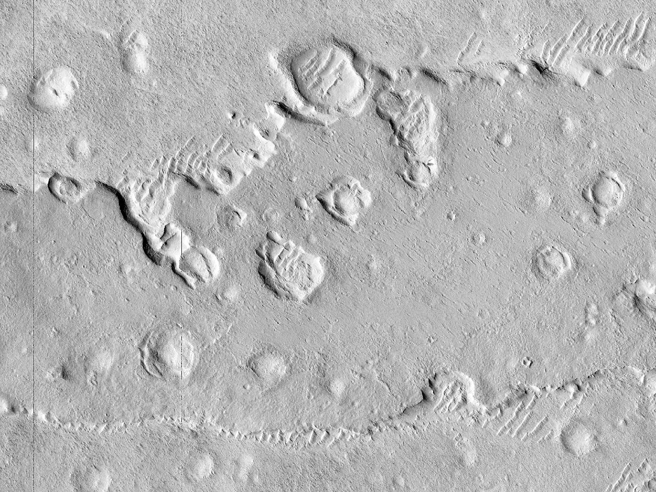 Pianure settentrionali craterizzate