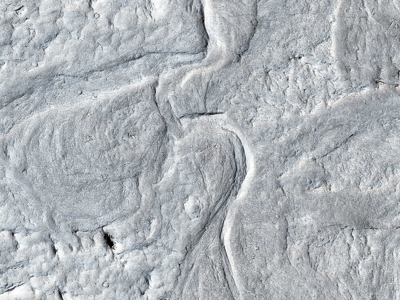 Sinuous Ridges and Meanders