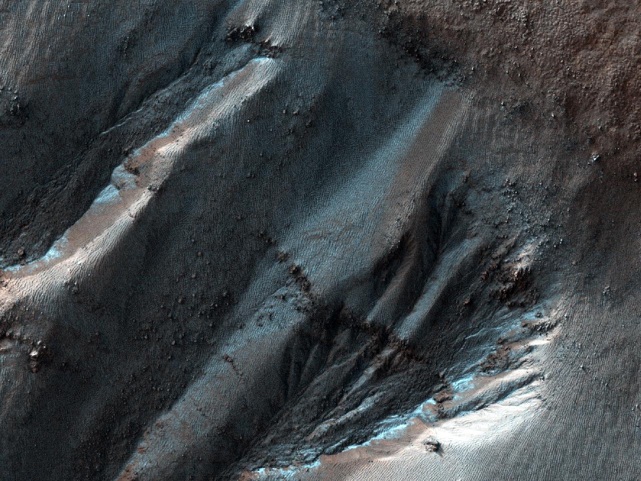 Cratera em Noachis Terra