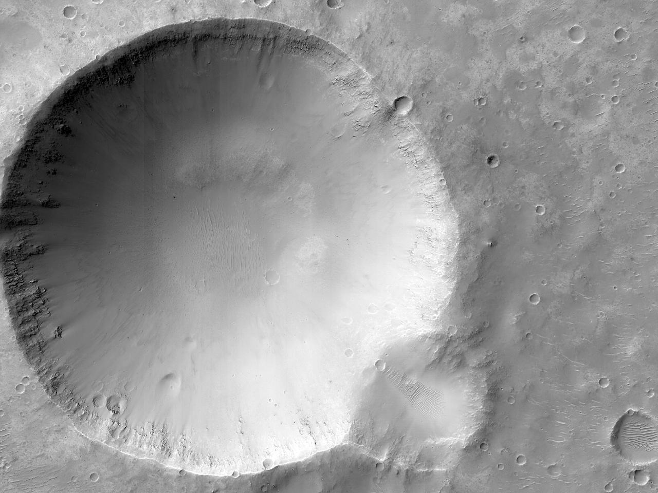 Crateras em Margaritifer Terra