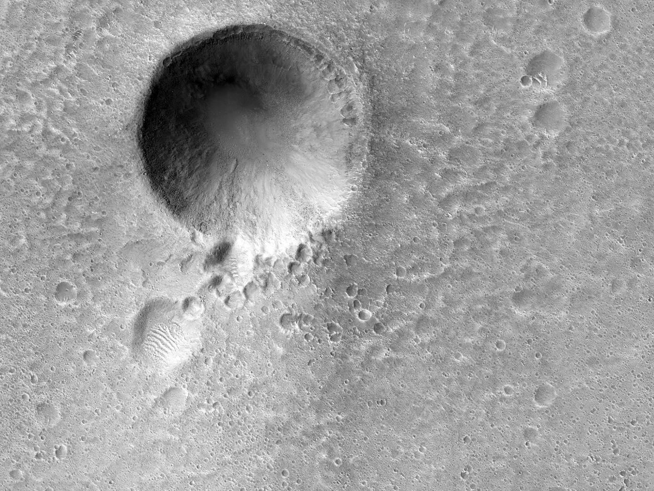 Terreno em Acidalia Planitia