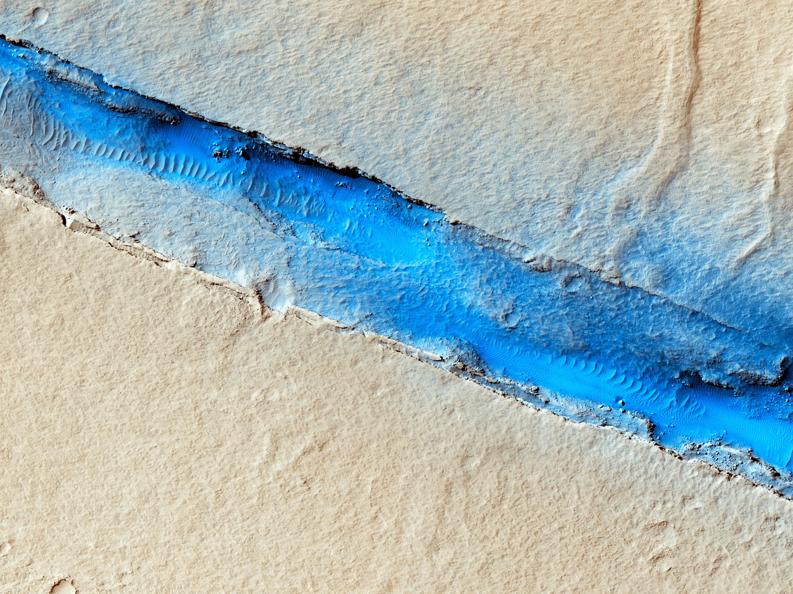 A Fissure near Cerberus Fossae