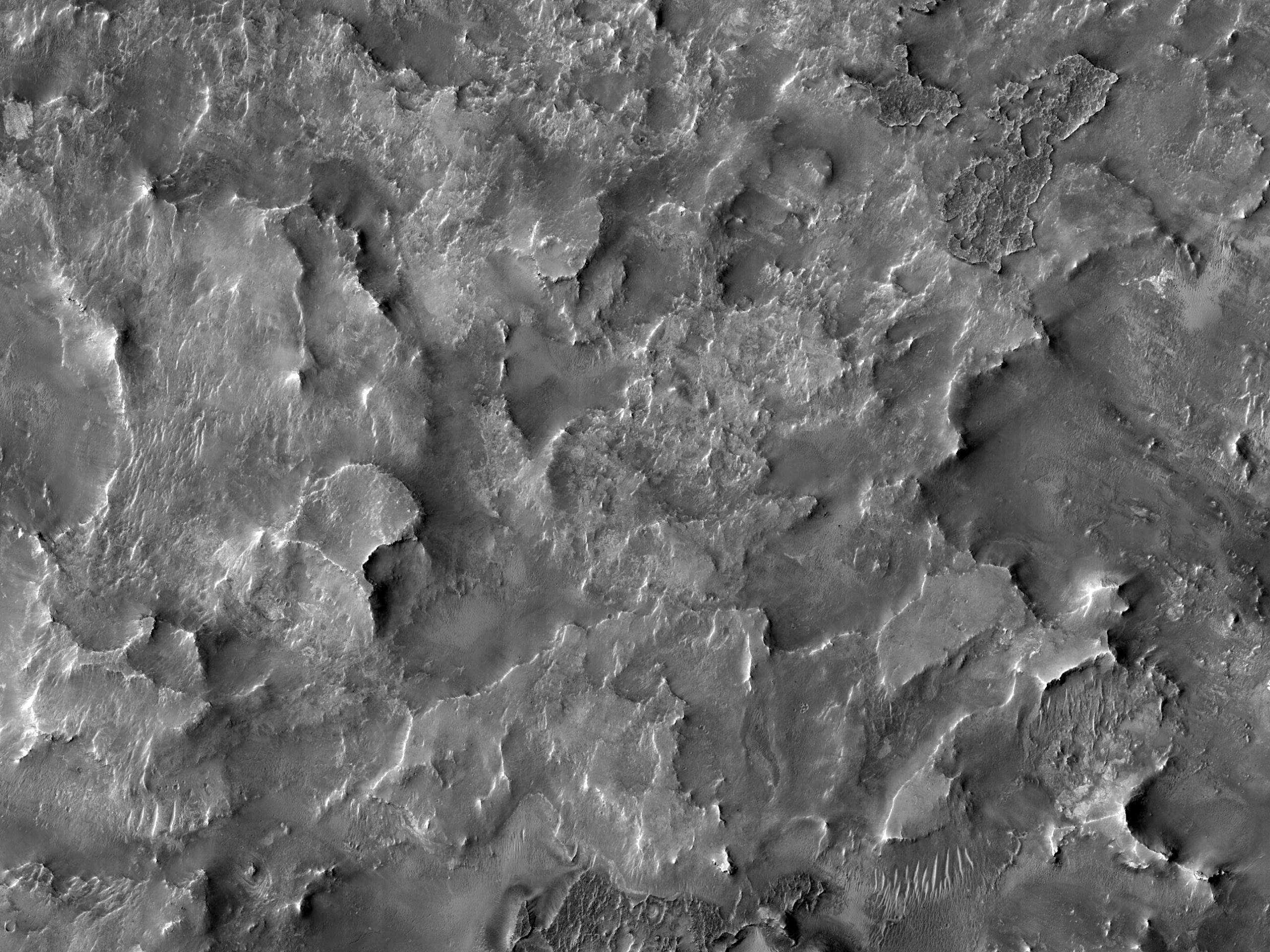 Possible Quartz-Rich Terrain in Antoniadi Crater