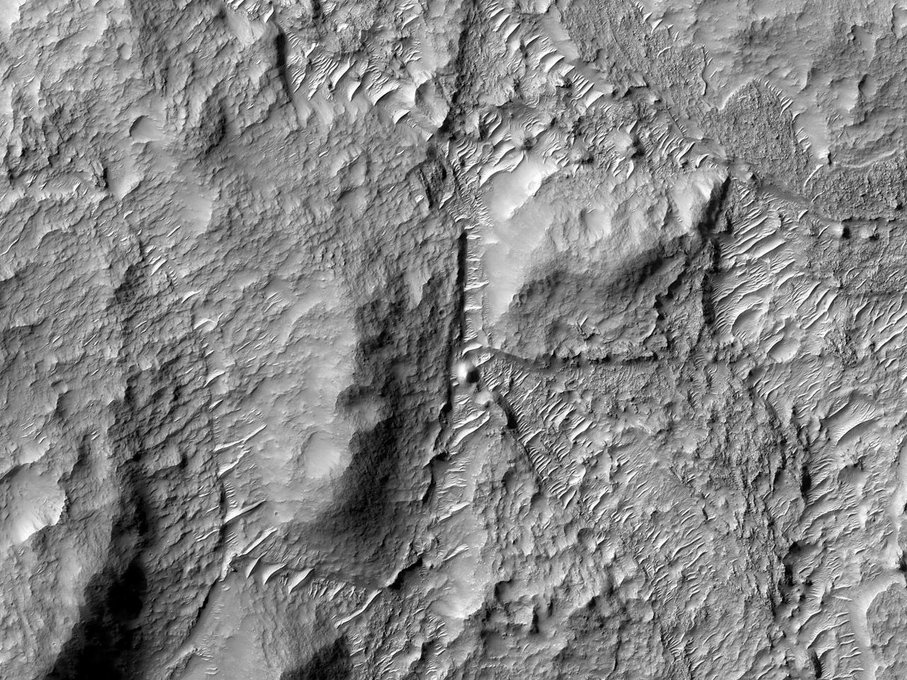 Bunnen av krateret Cross
