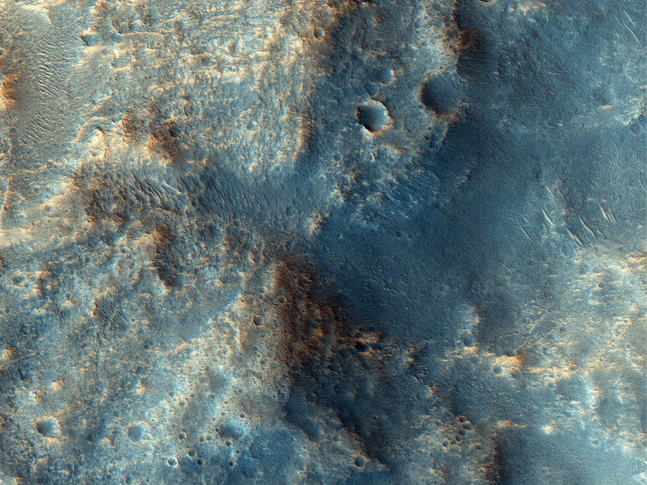 A Plateau in Ares Vallis