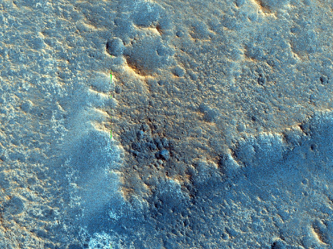 Platå nær Tiu Valles