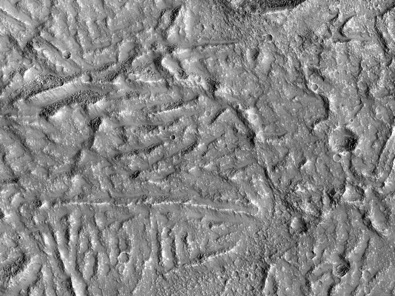 Pământ cu lava antica (Terra Sirenum)