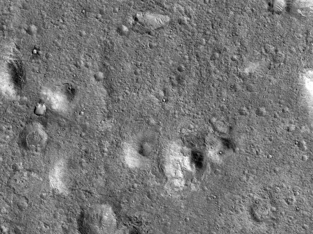 Mulig landingsfelt for ExoMars nær Hypanis Valles