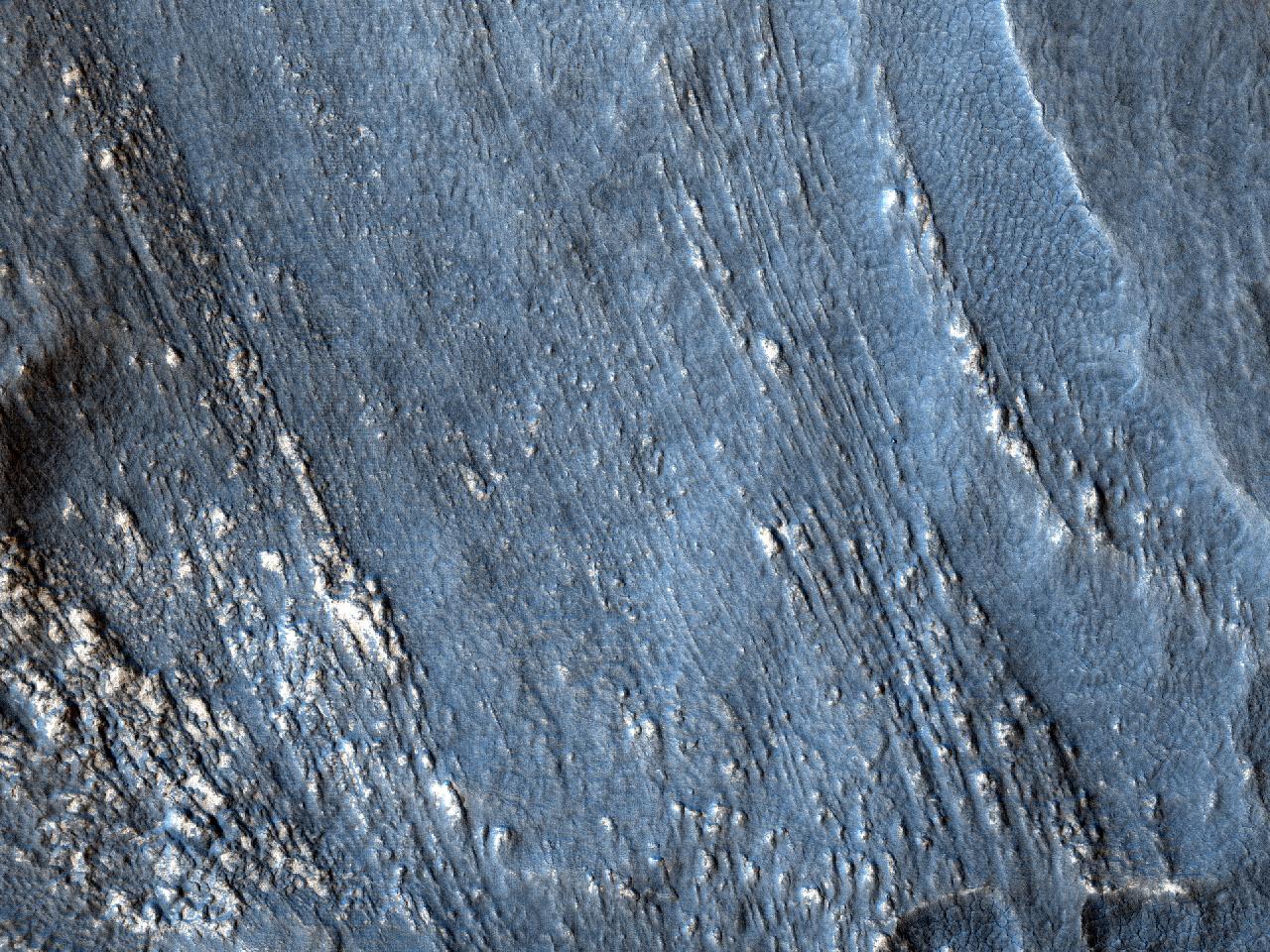 Teren în formă de limbă în Promethei Terra