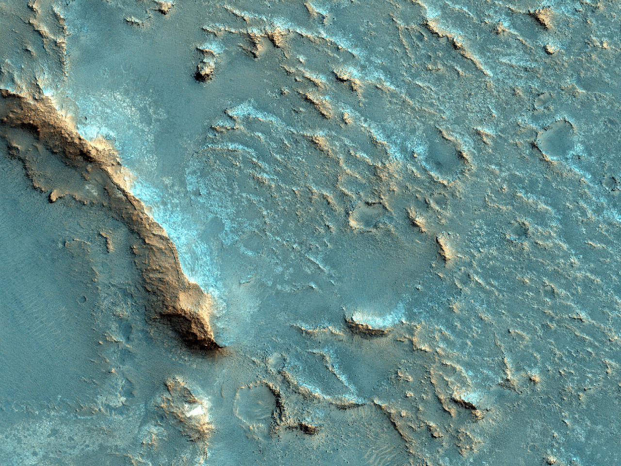 Sit de aterizare potențial pentru Misiunea 2020 în CraterulMclaughlin