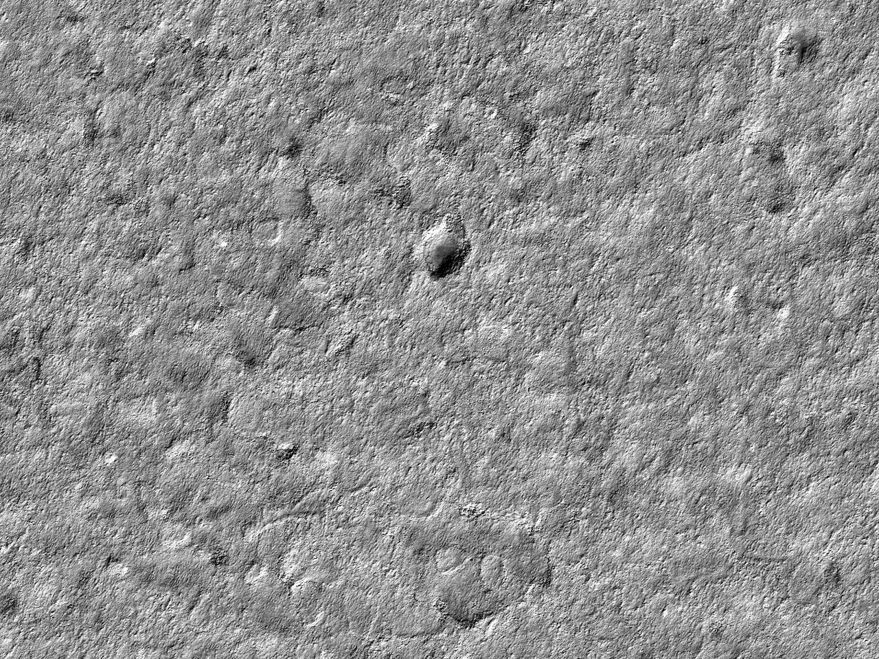 Crater la Polul Sud al Depozitelor pe straturi