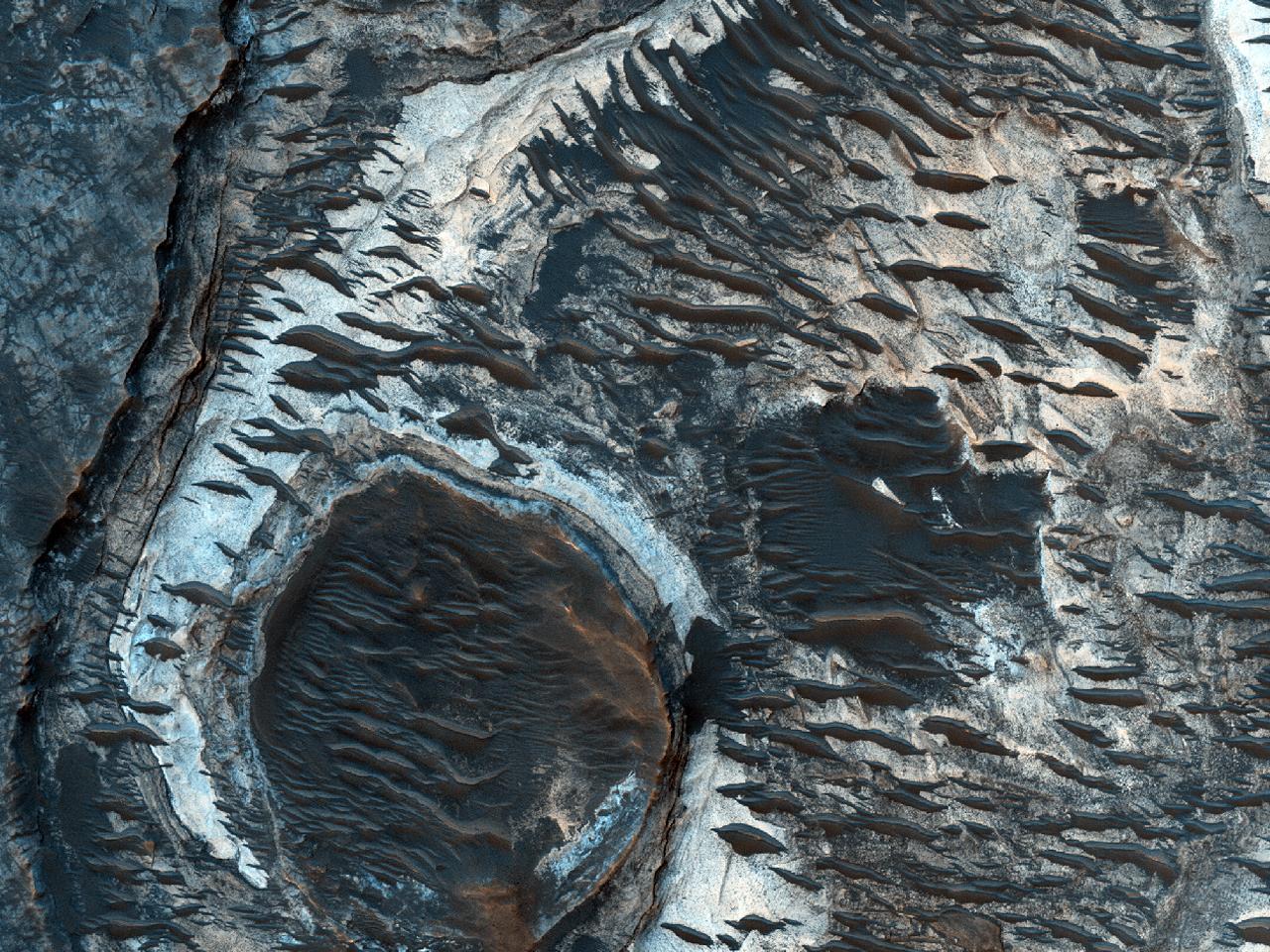 Posibil loc de aterizare pentru misiunea din 2020 în Hadriacus Palus