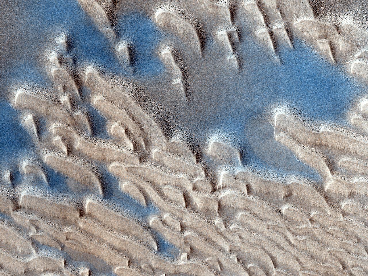 Potențial loc de aterizare în Oxia Palus pentru Misiunea ExoMars
