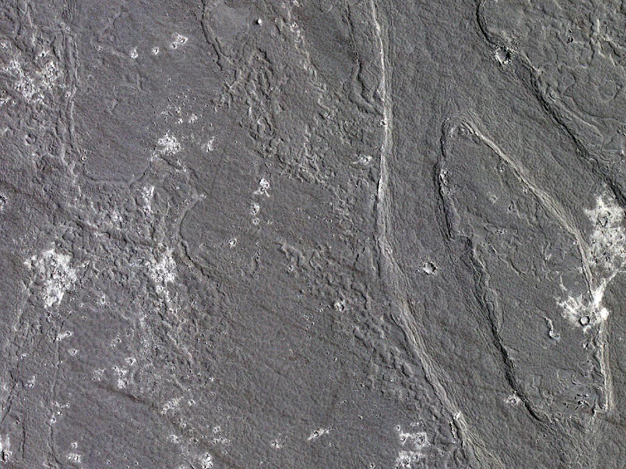 Канал потока в болоте Cerberus Palus
